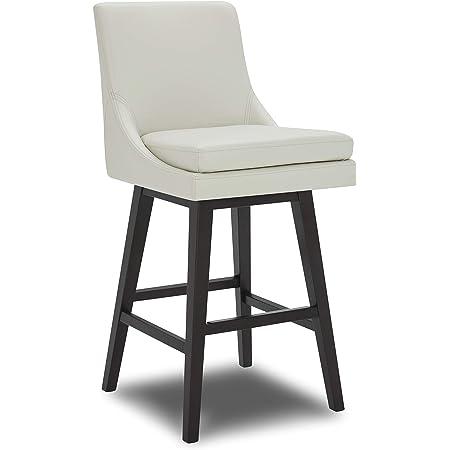 Brand 42.5 H Hemp Stone /& Beam Elise Upholstered Barstool
