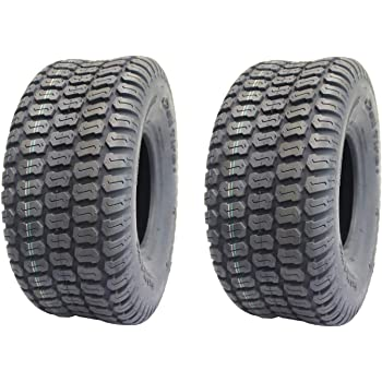 16x6.50-8 Turf Tread Lawn and Garden Tractor Tire Tubeless Deli Tire S-374 4 Ply