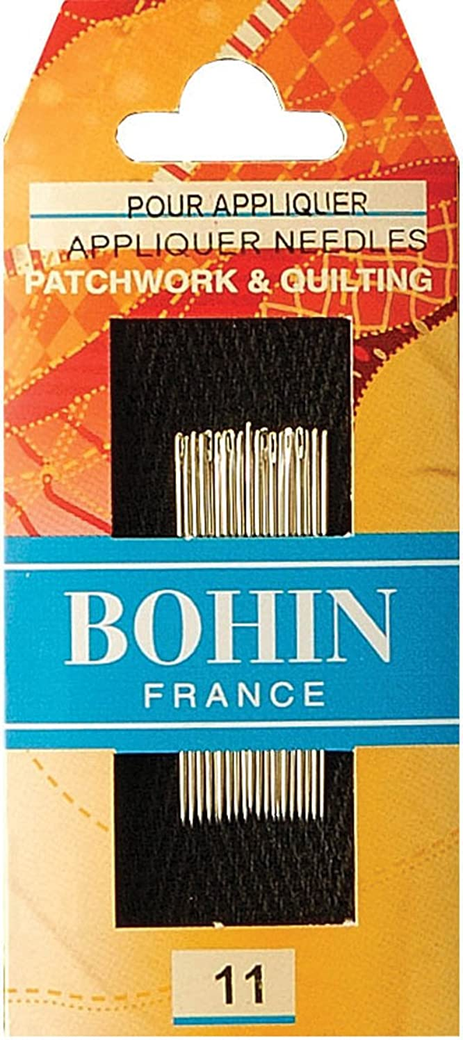 Bohin Applique Needles, Size 11, 20-Pack