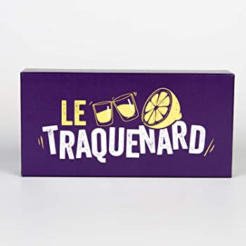 Le Traquenard - Le Jeu Apero avec 300 Cartes Variées et Fun qui Commence par un Petit Verre Tranquille - Jeu à Boire pour tes Soirées - Jeu Alcool, Jeu de Cartes Adultes, Jeu de Societe Adulte