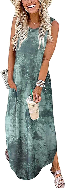 CYCGZJL Women's Summer Casual Dresses Fashion Holiday Beach Party Dress (4)