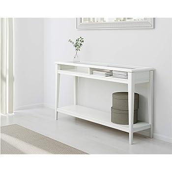 IKEA.. 001.050.64 Liatorp Consolle, Bianco, Vetro: Amazon.it