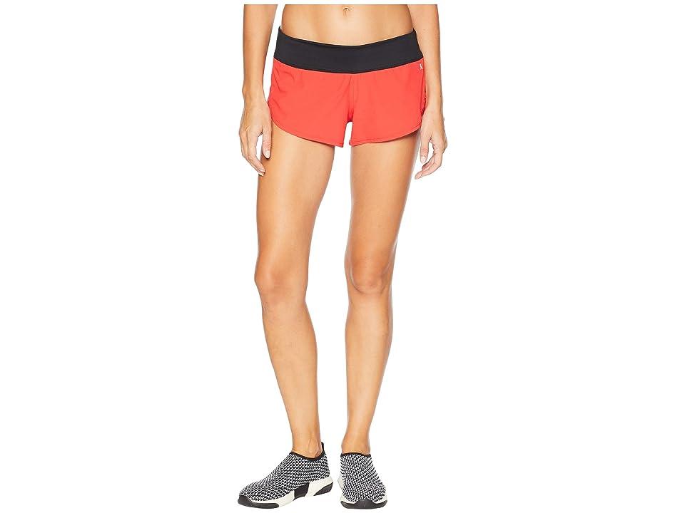 Hurley Phantom Beachrider Boardshorts (Speed Red) Women