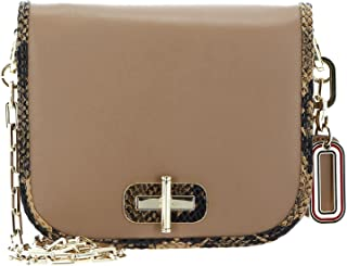 Tommy Hilfiger Leather Statement Crossover S Cappuccino