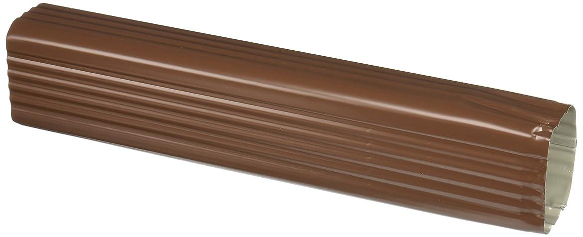 暗いブラザー中性Amerimaxホーム製品2507519?15インチ縦樋拡張子、ブラウン