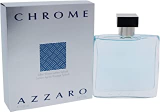 Chrome By Loris Azzaro For Men. Aftershave 3.4 Oz.