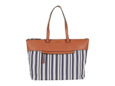 Fiorelli Chelsea Satchel (Nautical Stripe) Satchel Handbags