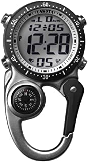 Dakota Watch Company Digi Clip Watch, Silver