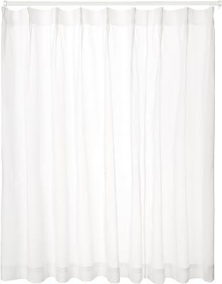 ユニベール ミラーレースカーテン ホワイト 幅150×丈176cm 1枚 HAZ-L0035