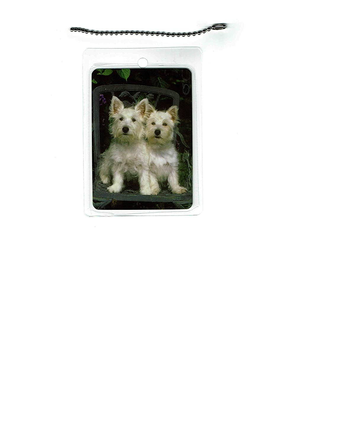 West Highland White Terrier Tag Dealing full price reduction Luggage 67% OFF of fixed price Dog
