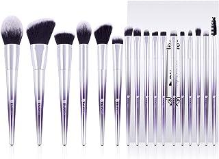 DUcare Makeup Brushes Set 17Pcs Fantasy Purple Ombr Make Up Set Foundation Concealer Cosmetic Eyeshadow Brush Kit Cosmetic...