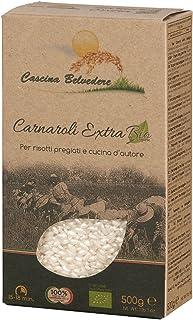 Cascina Belvedere Riso superfino - Bio - Risotto-Reis Carnaroli aus Italien/Piemont 1 x 0.5 kg