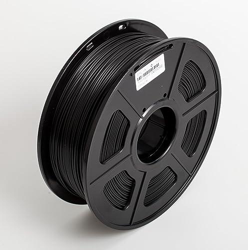 Techie 1.75mm PLA Filament 1KG Roll for 3D Printers(Black)