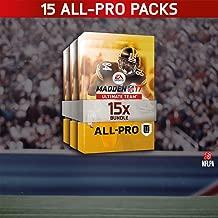 Madden NFL 17: Madden NFL 17 15 All Pro Pack Bundle - PS4 [Digital Code]