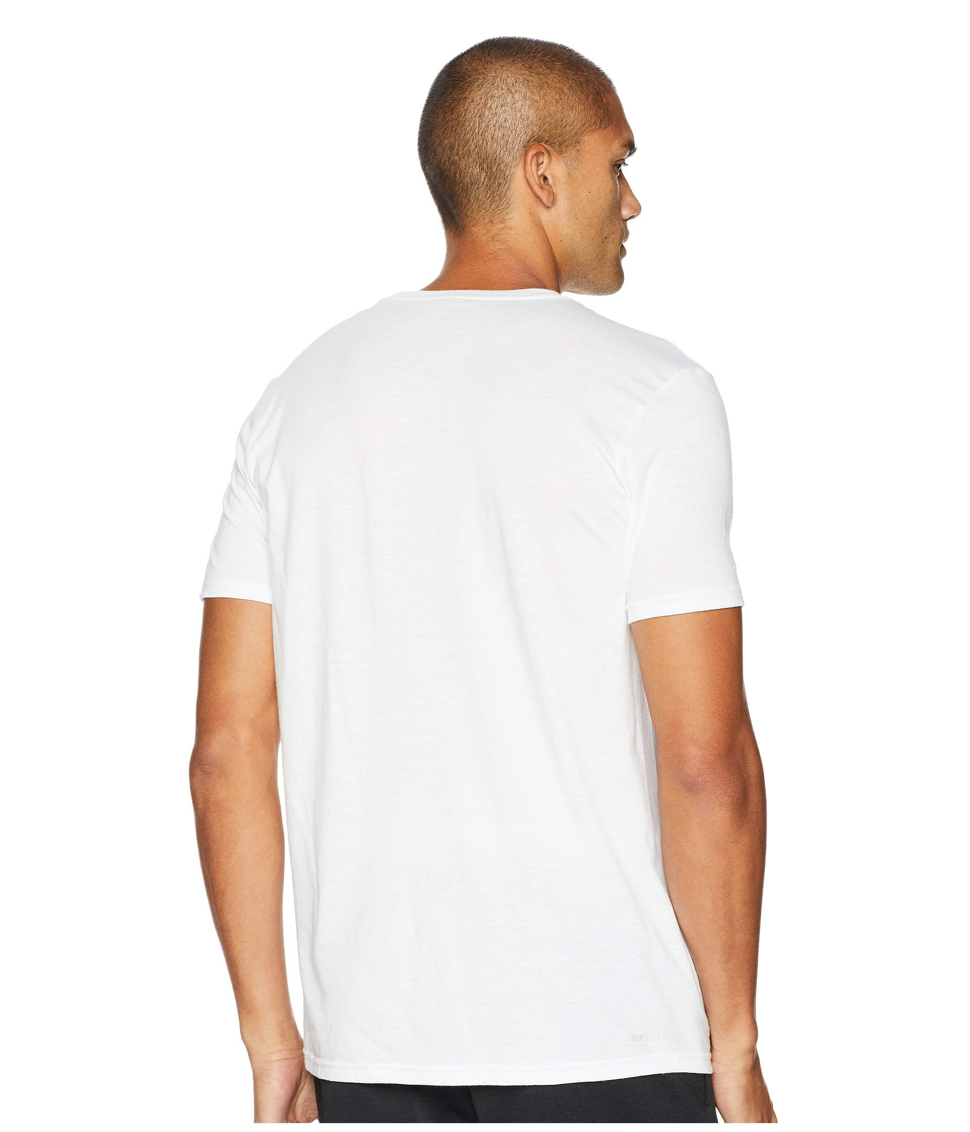Adidas Life 3 White stripes Stitch Tee pwAq1pEr