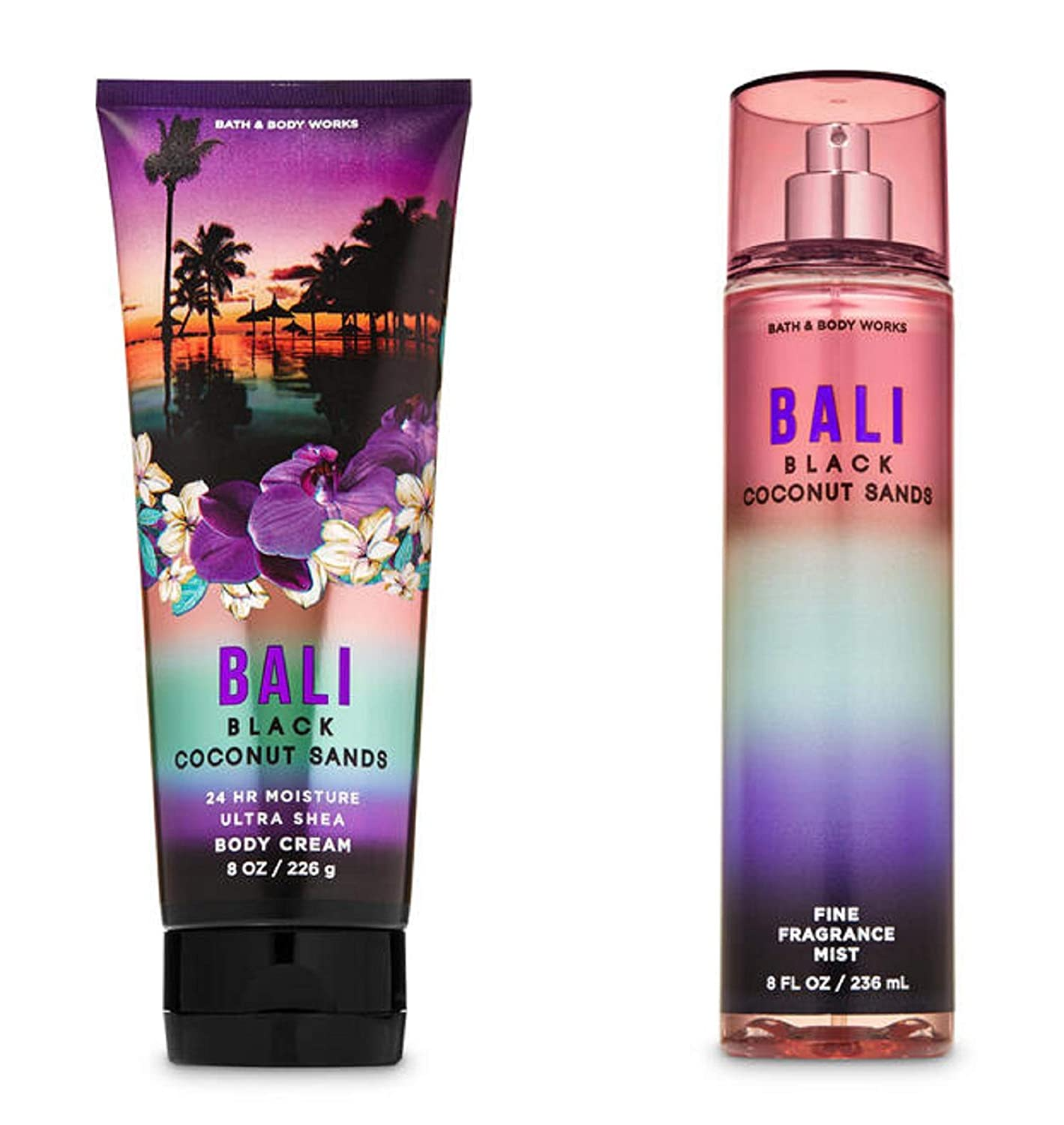 Bath and Outlet ☆ Free Shipping Body 40% OFF Cheap Sale Works Bali Black Duo Ultra Gift Set Coconut Sands