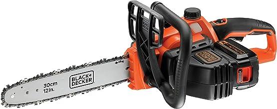 Black+Decker GKC3630L25-QW Li Ion kettingzaag 36V met accu en oplader, ideaal voor hout- en tuinwerkzaamheden, 30 cm zwaar...