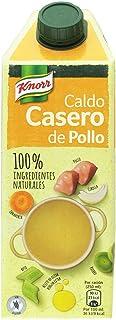 Knorr Caldo Casero de Pollo - Paquete de 6 x 750 ml - Total: 4500 ml