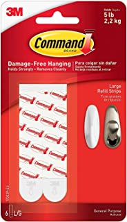 Command Mounting Refill Strips, Large JBKRS, 12-Strip