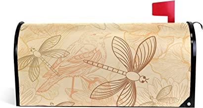 Natuur Patroon Ontwerp Magnetische Postbus Cover Tuin Home Decor Oversized 25,5 x 18 Inch
