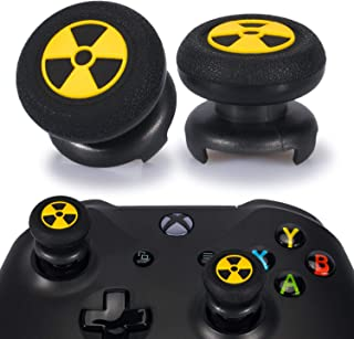 Playrealm FPS Thumbstick Extender & 3D Texture Rubber Silicone Grip Cover 2 Sets for Xbox Series X/S & Xbox One Controller...