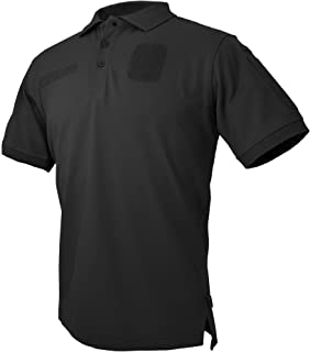 tactical polo with velcro