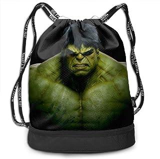 Hulk Bundle Kordelzug Rucksack für Sport Sport String Bag School Yoga Kinder Herren und Damen Reiserucksäcke
