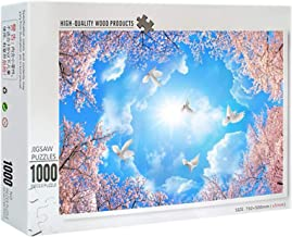 Youmymine Jigsaw Puzzles 1000 Piece for Kids Adults Puzzle Cherrys Game Interesting Toys Educational Personalized Gift (Bl...