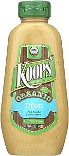 Koops' Organic Dijon Mustard, 12 oz. Bottle, 12-Pack