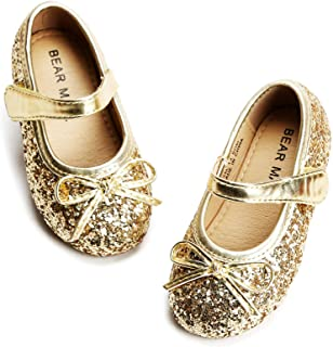 Felix & Flora Bear Mall Girls' Shoes Girl's Ballerina Flat Shoes Mary Jane Dress Shoes (Little/Toddler Girls Shoes/Big Kid...