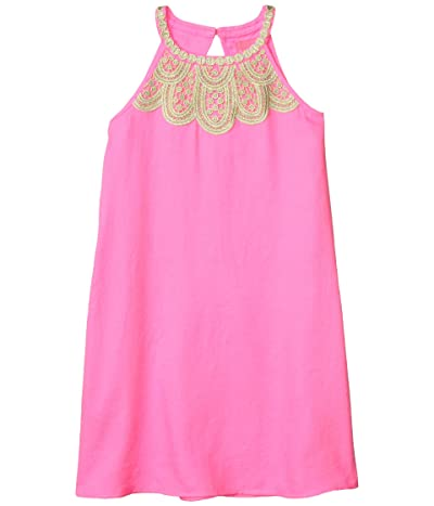 Lilly Pulitzer Kids Mini Pearl Dress (Toddler/Little Kids/Big Kids) (Prosecco Pink) Girl