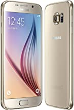 Samsung Galaxy S6 G920a 32GB Unlocked GSM 4G LTE Octa-Core Android Smartphone w/ 16MP Camera (Renewed) (Gold Platinum)