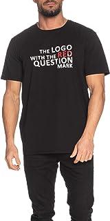 GUESS Men's Crew Neck Small Sleeve Code Lxxxi T-Shirt