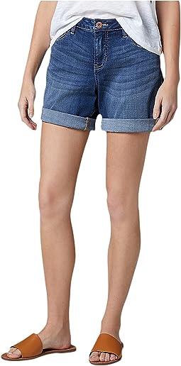 Carter Girlfriend Platinum Denim Shorts