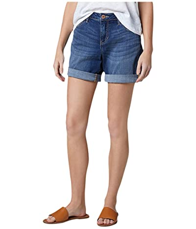 Jag Jeans Carter Girlfriend Platinum Denim Shorts (Mystic) Women