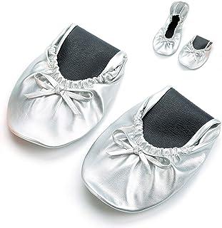 b991cc6033 Amazon.co.uk: Silver - Ballet Flats / Women's Shoes: Shoes & Bags