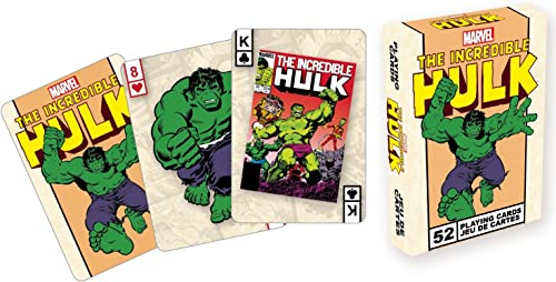 Aquarius Marvel- Hulk Playing voitureds Deck
