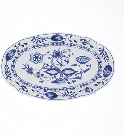 Preisvergleich für Kahla 173304M72067U–Aktion Platte oval Rossella (Zwiebelmuster) 23cm (H. Nr.)