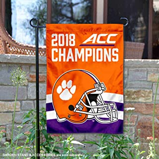 Clemson Tigers 2018 Football Conference Champions Garden Flag
