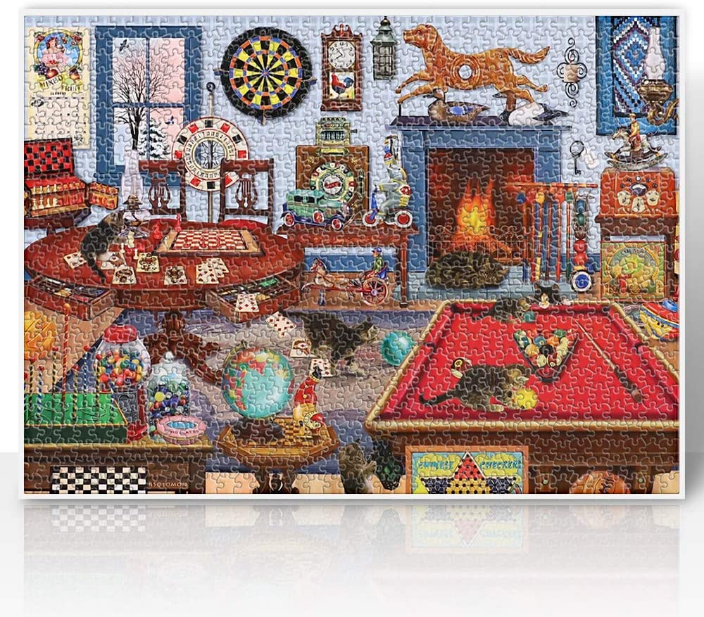 Puzzles for Adults Max 59% OFF 1000 Piece Jigsaw Luxury goods Adu Pieces
