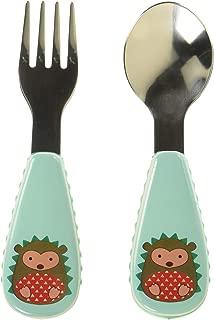 美国 SKIP HOP 可爱动物园餐具叉和勺 刺猬SH252363