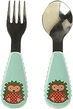 Skip Hop Toddler Utensils, Fork and Spoon Set, Hedgehog