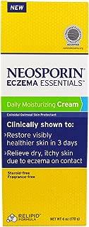 Neosporin, Eczema Essentials, Daily Moisturizing Cream, 6 oz (170 g) - 2pc