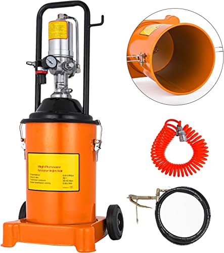 high quality Mophorn Grease Pump 3 Gallon Air popular Operated Grease Pump with Pneumatic Compressed Gun Lubrication Grease online Pump 50:1 Pressure Ratio(12L) online sale