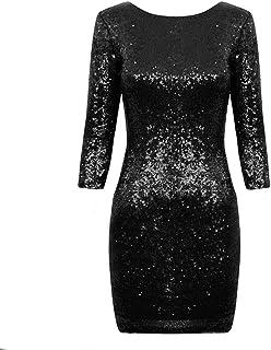 Suchergebnis Auf Amazon De Fur Paillettenkleid Schwarz Bekleidung