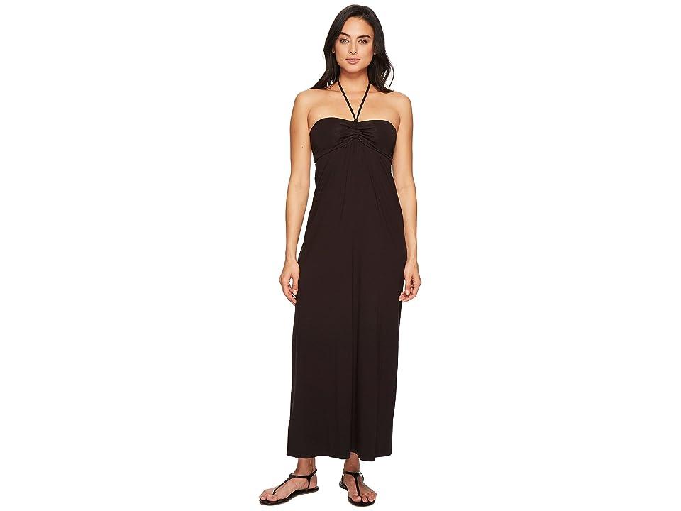 Tommy Bahama Tambour Maxi Dress (Black) Women