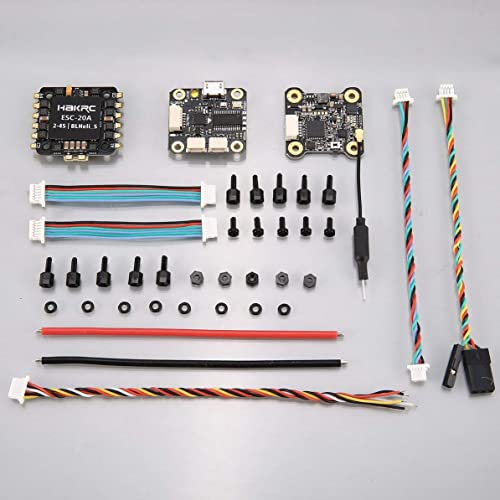 ganancia cero Controlador de Vuelo HAKRC F4 OSD OSD OSD 4in1 20A BLheli_S ESC 200mW VTX para RC Drone  tiendas minoristas