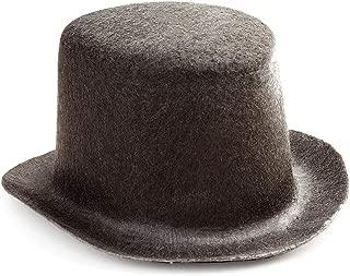 Darice Bulk Buy DIY Black Top Hat Felt 5 inches (6-Pack) 12750