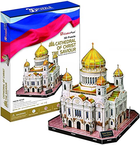 3D three-dimensional puzzle Cathedral of Christ the Saviour BIG Größe (japan import)