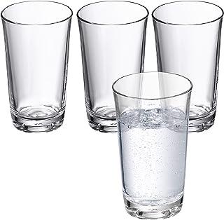 WMF 0950509994 Wasserglas-Set 4 Stück Basic 0.25 L